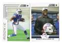 2012 Score Football Team Set - BUFFALO BILLS