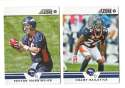 2012 Score Football Team Set - DENVER BRONCOS