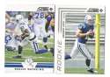 2012 Score Football Team Set - INDIANAPOLIS COLTS   w/ Andrew Luck RC