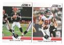 2012 Score Football Team Set - ATLANTA FALCONS