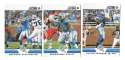 2012 Score Football Team Set - DETROIT LIONS
