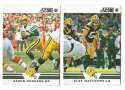 2012 Score Football Team Set - GREEN BAY PACKERS