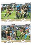 2012 Score Football Team Set - NEW ORLEANS SAINTS