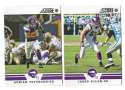 2012 Score Football Team Set - MINNESOTA VIKINGS