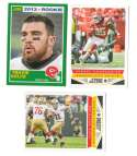 2013 Score Football Team Set w/ RC - KANSAS CITY CHIEFS