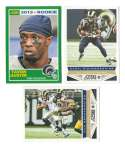 2013 Score Football Team Set w/ RC - ST. LOUIS RAMS