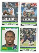 2013 Score Football Team Set w/ RC - SEATTLE SEAHAWKS