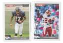 2004 Topps Total First Edition Football Team Set - DENVER BRONCOS