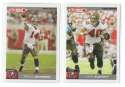 2004 Topps Total First Edition Football Team Set - TAMPA BAY BUCCANEERS