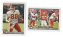 2004 Topps Total First Edition Football Team Set - KANSAS CITY CHIEFS