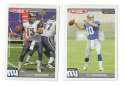 2004 Topps Total First Edition Football Team Set - NEW YORK GIANTS