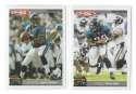 2004 Topps Total First Edition Football Team Set - JACKSONVILLE JAGUARS