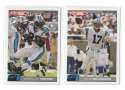 2004 Topps Total First Edition Football Team Set - CAROLINA PANTHERS