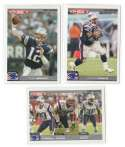 2004 Topps Total First Edition Football Team Set - NEW ENGLAND PATRIOTS