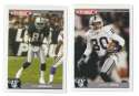 2004 Topps Total First Edition Football Team Set - OAKLAND RAIDERS