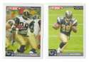 2004 Topps Total First Edition Football Team Set - ST. LOUIS RAMS