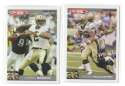 2004 Topps Total First Edition Football Team Set - NEW ORLEANS SAINTS