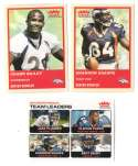 2004 Fleer Tradition (1-360) Football Team Set - DENVER BRONCOS