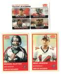 2004 Fleer Tradition (1-360) Football Team Set - TAMPA BAY BUCCANEERS