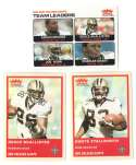 2004 Fleer Tradition (1-360) Football Team Set - NEW ORLEANS SAINTS