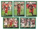 2007 Topps Total Football Team Set - ARIZONA CARDINALS