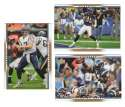2007 Upper Deck Gold Predictor Football Team Set - SAN DIEGO CHARGERS