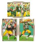 2007 Upper Deck Gold Predictor Football Team Set - GREEN BAY PACKERS