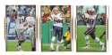 2007 Upper Deck Gold Predictor Football Team Set - NEW ENGLAND PATRIOTS
