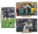 2007 Upper Deck Gold Predictor Football Team Set - ST. LOUIS RAMS