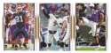 2007 Upper Deck Gold Predictor Football Team Set - BALTIMORE RAVENS
