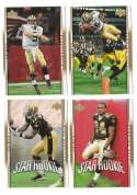 2007 Upper Deck Gold Predictor Football Team Set - NEW ORLEANS SAINTS