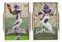 2007 Upper Deck Gold Predictor Football Team Set - MINNESOTA VIKINGS Peterson RC