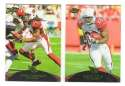 2011 Topps Prime Aqua Football Team Set - ARIZONA CARDINALS