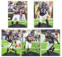 2011 Topps Prime Aqua Football Team Set - BALTIMORE RAVENS