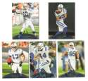 2011 Topps Prime Aqua Football Team Set - INDIANAPOLIS COLTS