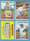 1967 Topps VG+-EX+ Condition - LOS ANGELES DODGERS Team Set