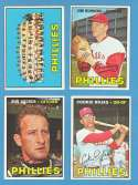 1967 Topps VG+-EX+ Condition - PHILADELPHIA PHILLIES Team Set