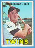 1967 Topps VG+-EX+ Condition - MINNESOTA TWINS Team Set