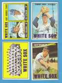 1967 Topps VG+-EX+ Condition - CHICAGO WHITE SOX Team Set #143 532 X on back Tommy John VG