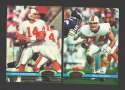 1991 Topps Stadium Club Football Team Set - TAMPA BAY BUCCANEERS