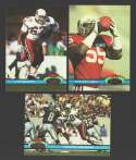 1991 Topps Stadium Club Football Team Set - PHOENIX CARDINALS