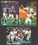 1991 Topps Stadium Club Football Team Set - NEW YORK GIANTS