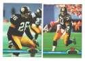 1991 Topps Stadium Club Football Team Set - PITTSBURGH STEELERS