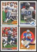 1991 Upper Deck (1-500) Football Team Set - DETROIT LIONS