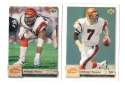 1992 Upper Deck Football Team Set - CINCINNATI BENGALS