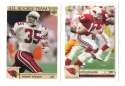 1992 Upper Deck Football Team Set - ARIZONA CARDINALS