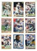 1992 Upper Deck Football Team Set - DALLAS COWBOYS