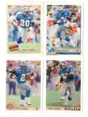 1992 Upper Deck Football Team Set - DETROIT LIONS