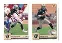 1992 Upper Deck Football Team Set - LOS ANGELES RAIDERS