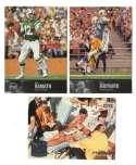 1997 Upper Deck Legends Football Team Set - NEW YORK JETS
